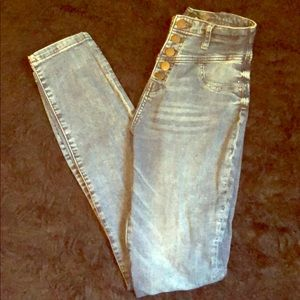 Blue jeans high rise size 4